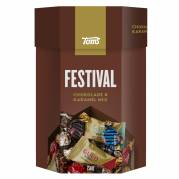 Chokolade, Toms, festivalblanding