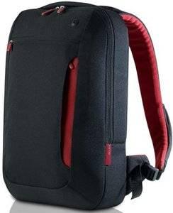 17'' Notebook Backpack Slim, Jet/Cabernet