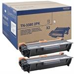 Black 2-Packs Laser Toner (TN3380)