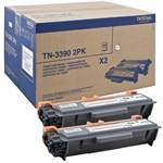 Black 2-Packs Laser Toner (TN3390)