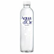 Mineralvand Aqua d'or med blid brus 0,50 liter