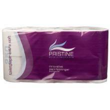 Toiletpapir Pristine Extra Soft 2-lag 34 m Nyfiber