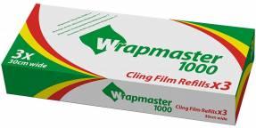Film 30cm refill t/Wrapmaster PVC fri for thalater