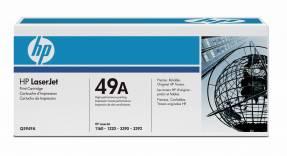 Lasertoner HP Q5949A sort LaserJet 1160/1320 2.500 kopi v/5%