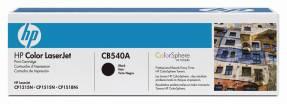 Lasertoner HP CB540A sort LJ serie CP1210/CP1510/CM1312 2.200 sider