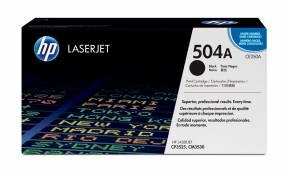 Lasertoner HP CE250A sort CLJ CP3525 5.000 sider v/5%