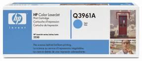 Color LaserJet Q3961A cyan HC toner