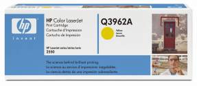 Color LaserJet Q3962A yellow HC toner
