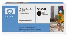 Lasertoner HP Q6000A sort Color laserjet 2600/2605 2.500 sider v/5%