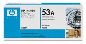 Lasertoner HP Q7553A sort LaserJet P2015 3.000 sider v/5%