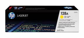Lasertoner HP CE322A gul CLJ Pro CP1525/CM1415 128A 1.300 sider v/5%