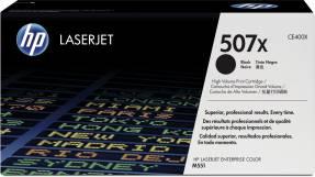 Lasertoner HP CE400X sort Laserjet Enterprice 500 507X