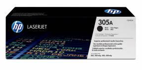 Lasertoner HP CE410A sort Laserjet Colorpro 300/400 305A 2.200 sider v/5%