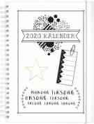 Doodle kalender A5 III uge 15x21cm 20 2270 20