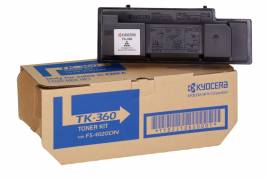 Lasertoner Kyocera TK-360 sort