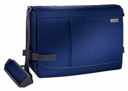 Laptoptaske Leitz Messenger blå Complete Smart Traveller 15.6
