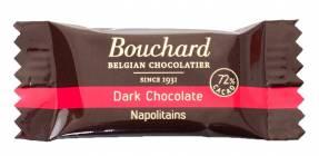 Chokolade Bouchard mørk 5g flowpakket 1kg/pak