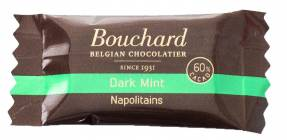 Chokolade Bouchard mint 5g flowpakket 1kg/pak