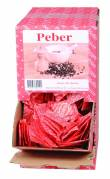 Peber i portionsbrev 0,2g displaymodel 2000stk