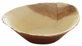 Skål palmeblad Hampi 16x11x6cm komposterbar 25stk/pak