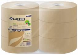 Jumborulle Lucart T3 Natural 2-lags Midi 9,8cmx300m 6rul/kar