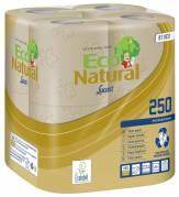 Toiletpapir Lucart T3 Natural 2-lags 9,6cmx27,5m sand 64rul/kar