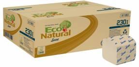 Toiletpapir I Ark Lucart T3 Natural 2-lags 21x10cm 40x210ark/kar
