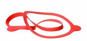 Pakning til Weck Ø10,8cm 10stk/pak rød