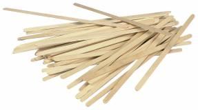 Rørepind birketræ Gastro-Line natur 19cm med afrundede ender 5000stk/pak
