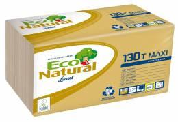 Økonomiserviet Lucart T3 Eco natur 1-lags 1/4 fold natur 500stk/pak