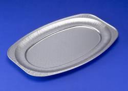 Cateringfad oval stor 55x36x2,2cm 65220 10stk/pak