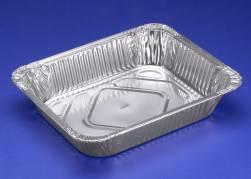 Gastro bakke 1/2GN Foodline 324x264x60mm 3600ml 100stk/pak
