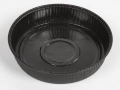 Kageform rund sort Ø170x35mm 720stk/pak Ecos