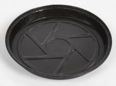 Kageform rund brun t/ovn Ø220x23mm 200stk/pak Ecos
