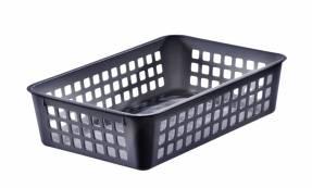 Stabelkurv Store Box mørkegrå 25x17x6cm