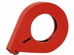 Tapedispenser metal 25mm lukket håndholdt