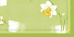 Stikdug Dunicel Spring Day 84x84cm 100stk/kar