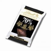 Chokolade mørk 5,5g/stk 200stk/pak