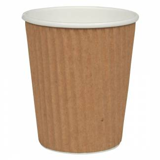 Kaffebæger 4oz Ripple Wall 1000stk/kar