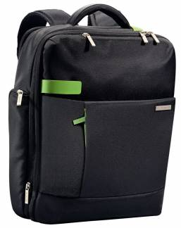"Computerrygsæk Smart Traveller 15,6"" Leitz sort"