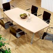 Konferencebord Consensus Birk laminat 2000x900 mm