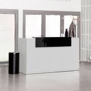 Reception Libra Lys grå 1730mm Fast Bordplade