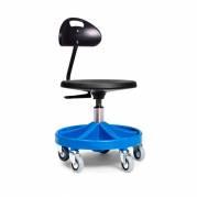 Montørstol All-round 2114 blå med rygstøtte