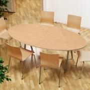 Konferencebord Consensus Bøg Laminat 2000x1200mm