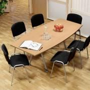 Konferencebord Consensus Bøg Laminat 2000x900