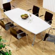 Konferencebord Consensus Hvid laminat 2000x900mm