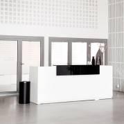 Reception Libra Komplet Hæve-sænkebord 2600mm Hvid DPL