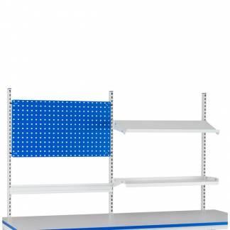 Påbygning til Let H-stativ c/c 900+900 (Værkstedsbord)